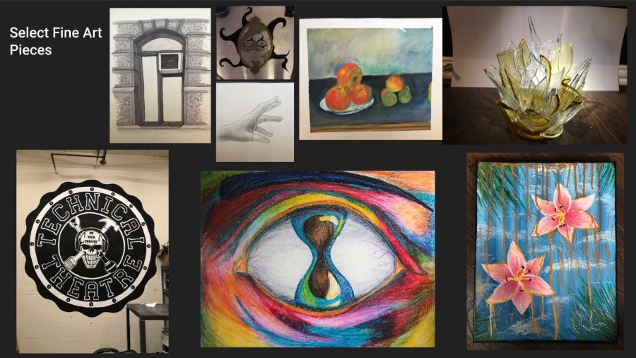 Selected Fine Art Pieces (2018-2020)