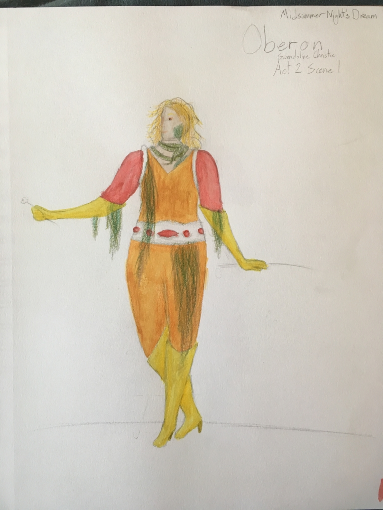Oberon rendering - costume design final