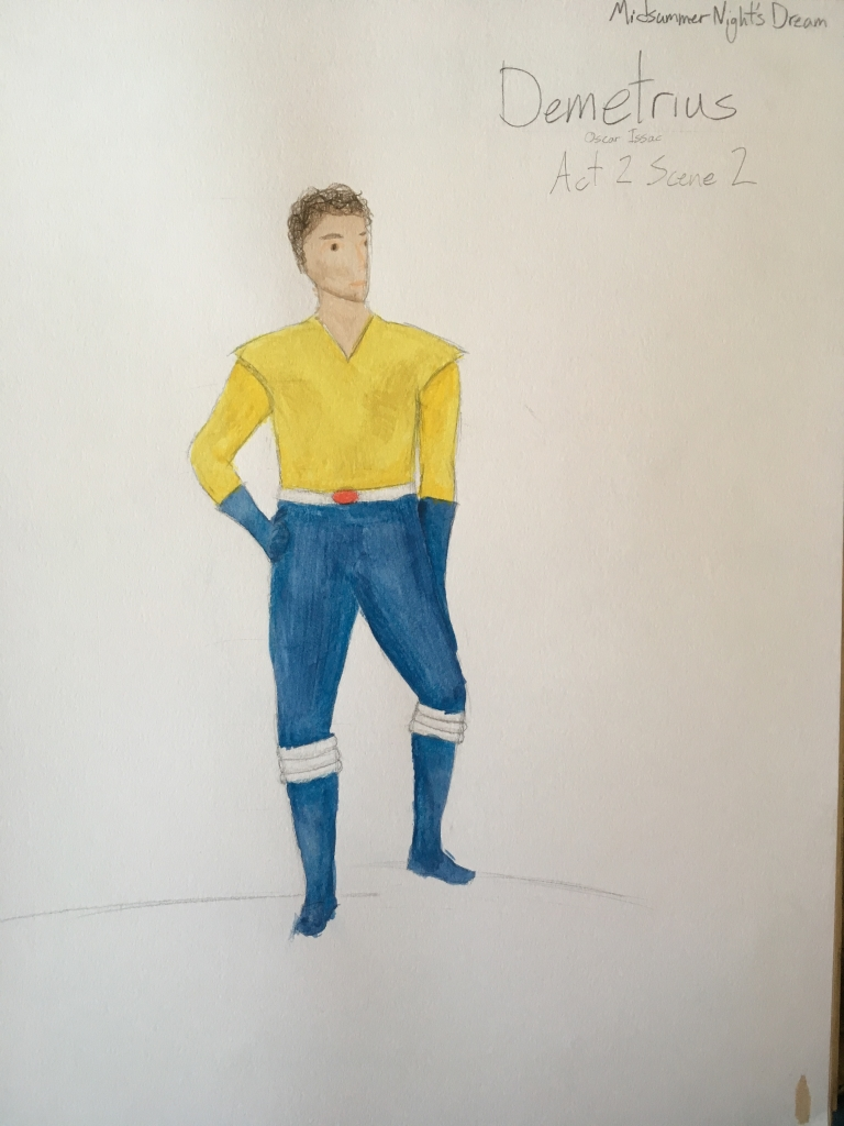Demetrius rendering costume design final