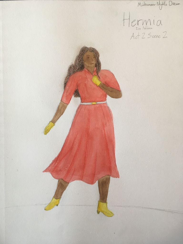 Hermia rendering costume design final