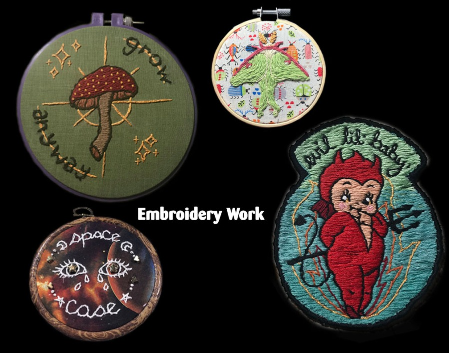 Embroidery 2019-2020 Hand embroidery